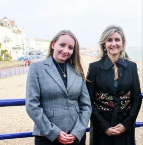 Nicola Grover and Fiona Martin - Eastbourne