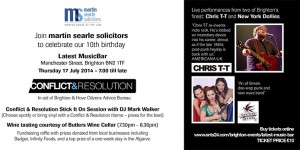 Conflict and Resolution in aid of CAB - 17 July 2014
