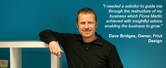 Martin Searle Solicitors Employment Law Testimonial Dave Bridges Restructuring